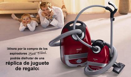 Todos limpian en casa: aspiradora para padres e hijos