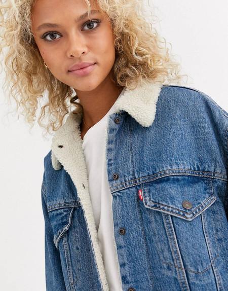 Esta chaqueta Levi's de lo más calentita está en ASOS al 50%: por 89,99 euros y envío gratis