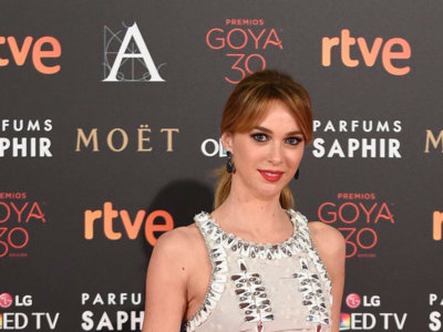 Marta Hazas de Carolina Herrera en los Premios Goya 2016
