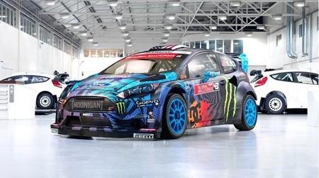 M-Sport le prepara un nuevo juguete a Ken Block. El Ford Fiesta RX43