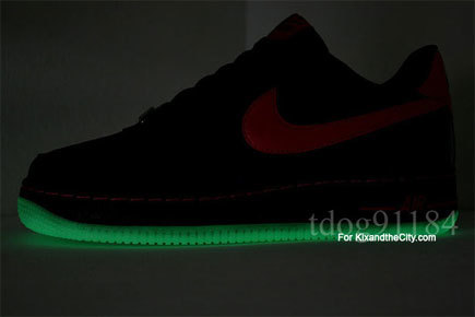 Zapatillas Nike Air Force 1 Black Berry