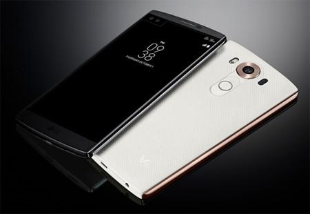 LG V10, el smartphone con dos pantallas de LG