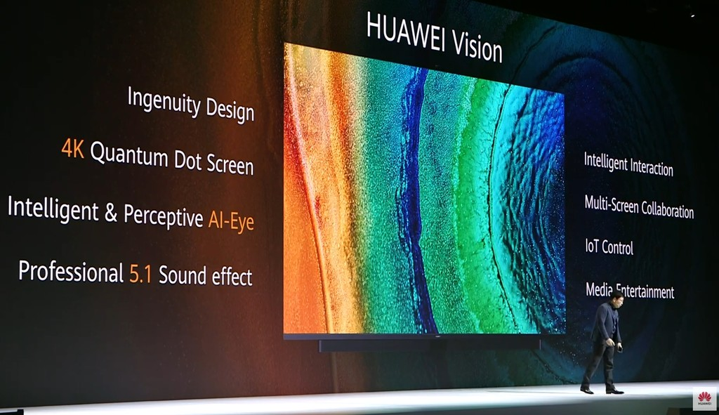 Huawei Vision: las primeras Smart TV 4K de Huawei llegan con HarmonyOS, tecnología Quantum Dot y diagonal de hasta 75 pulgadas