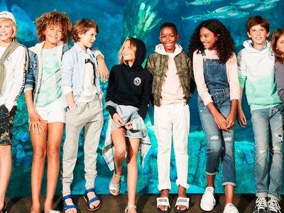 Abercrombie & Fitch lanza una línea de ropa de género neutro para niños