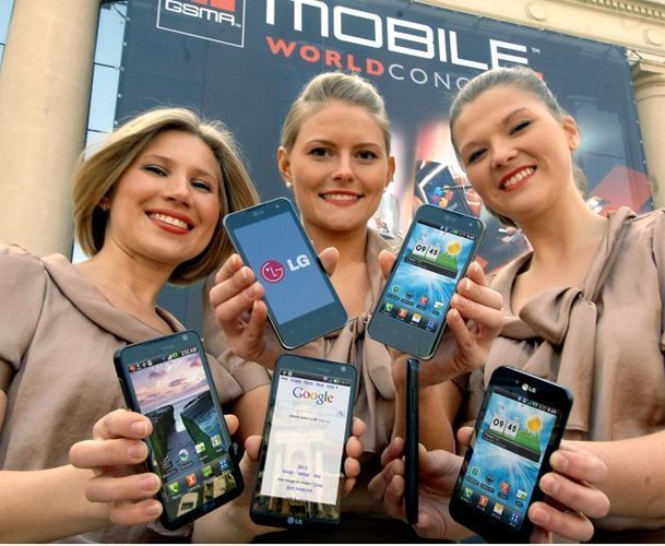 LG en el Mobile World Congress