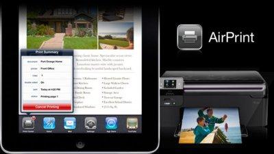 AirPrint, la impresión inalámbrica de Apple para iPad, iPhone e iPod touch