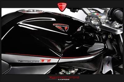 Tamburini Corse T1, la MV Agusta Brutale carbonizada