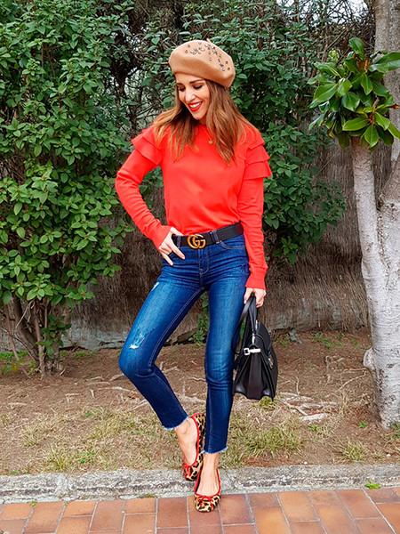 Combinar Jersey Rojo 15