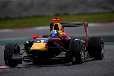 Carlos Sainz GP3 Barcelona