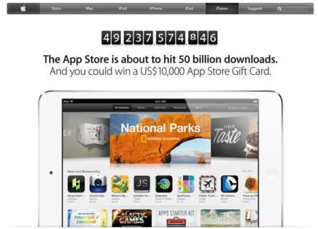 La App Store, a punto de superar los 50.000 millones de descargas