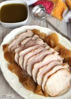 Receta fácil: Lomo de cerdo con manzanas