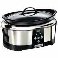 Hasta esta medianoche en Amazon tenemos la olla de cocción lenta Crock-Pot SCCPBPP605-050 por 53,90 euros con envío gratis