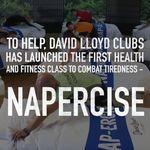 Napercise: una clase fitness de ensueño