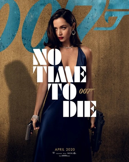 Ana De Armas 007 Poster