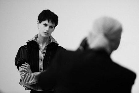 Saskia de Brauw, el nuevo ojito derecho de Karl Lagerfeld