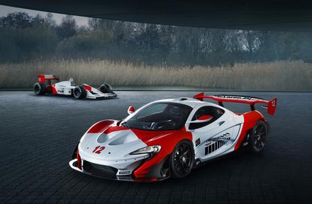 Este McLaren P1 GTR de MSO es todo un homenaje a Ayrton Senna y a su MP4/4 con decoración Marlboro