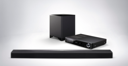 Onkyo LS7200, una barra de sonido en tres módulos compatible con Dolby Atmos y DTS:X