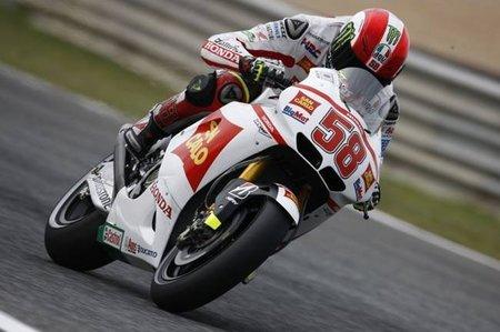 Post GP Portugal 2011: Marco Simoncelli, el más rápido en los entrenamientos oficiales post Portugal