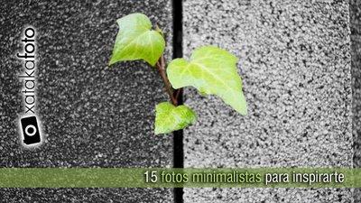 15 fotografías minimalistas para inspirarte