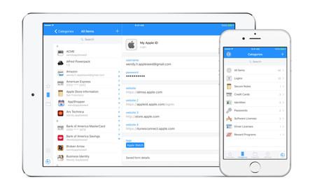 1Password para iOS se actualiza e incluye notas con formato enriquecido