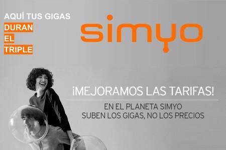 Simyo golpea al low cost con una contundente rebaja: ahora 7 GB por 4 euros, 14 GB por 6 euros, 25 GB por 9 euros y más