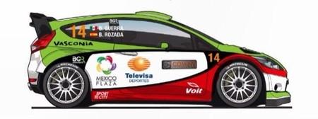 Benito Guerra estará en el Rally de México con un Ford Fiesta RS WRC