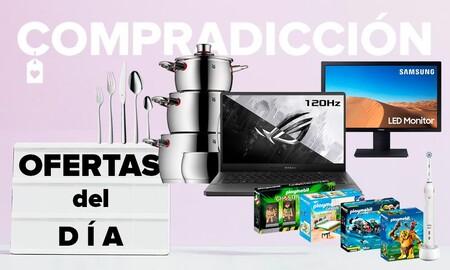 Ofertas del día en Amazon: portátiles ASUS, monitores Samsung, menaje WMF o cepillos de dientes Oral-B a precios rebajados