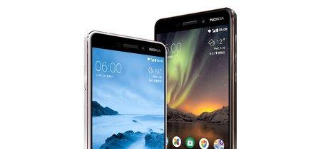 Nokia 6 (2018): Snapdragon 630, USB Type-C y sensor de huellas trasero, pero con el mismo precio de su antecesor
