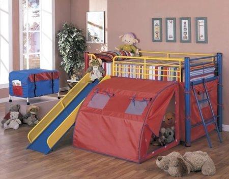 dormitorio compacto infantil