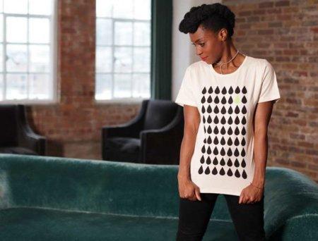 Camiseta diseñada por Morcheeba para Edun Live