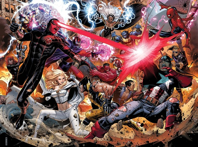 X-Men and Avengers