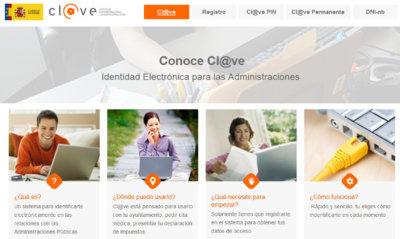 La plataforma Cl@ve ya cuenta con más de un millón de usuarios registrados