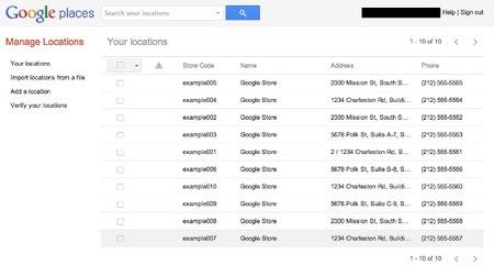Google Places facilita la administración de múltiples ubicaciones de negocios