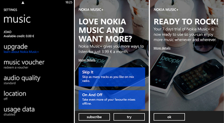 Nokia Music+ ya está disponible en España