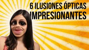 Recopilación de seis ilusiones ópticas sorprendentes