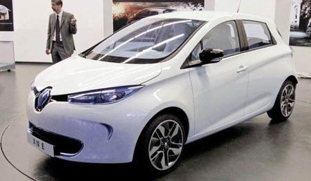 Primera imagen de la versión definitiva de Renault Zoe sin camuflaje
