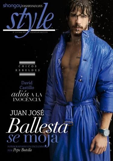 Juan José Ballesta y David Castillo ya no van de garrulillos en la  revista Shangay