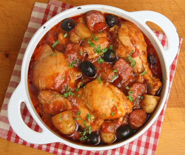 Whole30 Mediterranean Chicken Casserole
