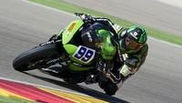 Superbikes Motorland Aragon 2013: Fabien Foret consigue la victoria en Supersport con los favoritos fuera