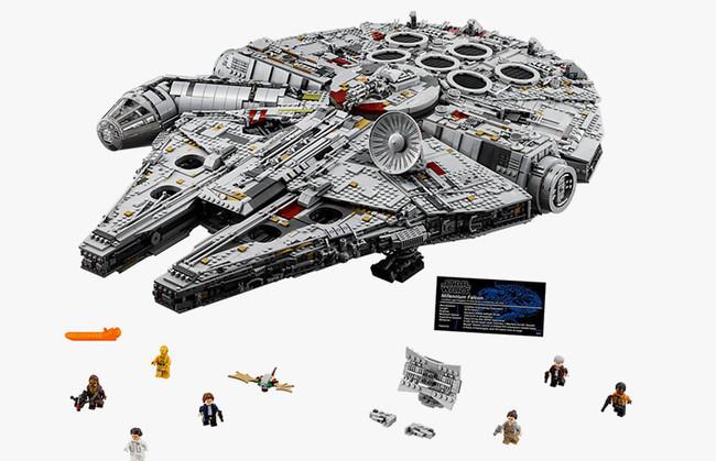 LEGO sorprende a los fans de Star Wars con el nuevo Millennium Falcon, una imponente nave de 7.500 piezas