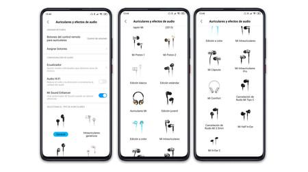 Xiaomi Mi 9t Pro Ajustes Audio