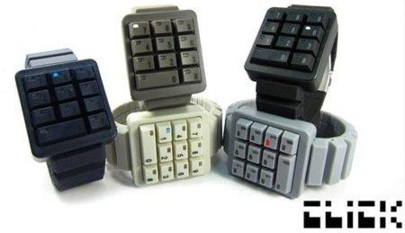 Click Keypad, un teclado hecho reloj