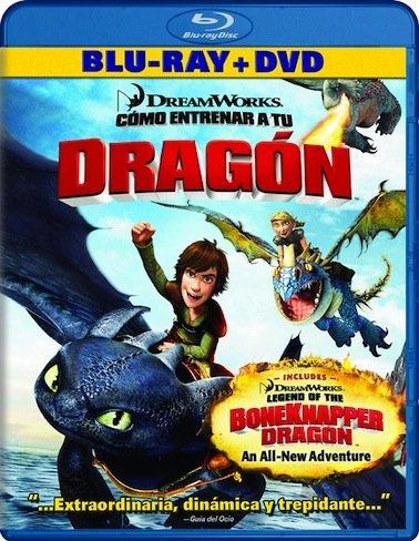 cómo entrenar a tu dragon blu-ray