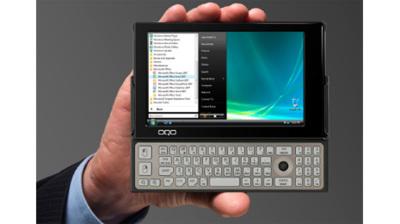 OQO model 2+, con pantalla OLED y 3G
