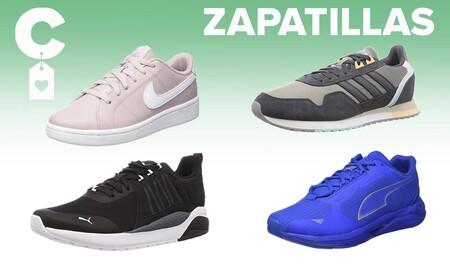 Chollos en tallas sueltas de  zapatillas Puma, Asics, Adidas o Nike en Amazon