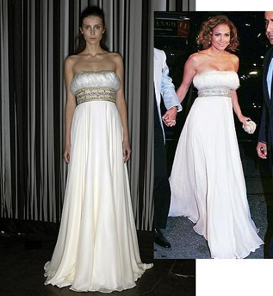 El maravilloso look de Jennifer Lopez, de Marchesa, en el cumpleaños de su marido