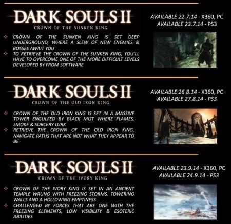 Dark Souls II (la trilogía de las coronas)