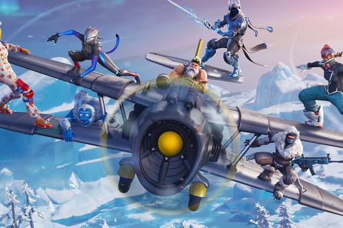 La temporada 7 de Fortnite ya está aquí: aviones, Santa Claus y mucha nieve