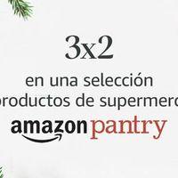 Promoción de Amazon Pantry: 3 x 2 en una selección de productos de supermercado con marcas como Scottex, Nestlé, Font Vella...