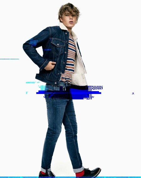 Jordan Barrett Pepe Jeans Fall Winter 2016 Campaign 002